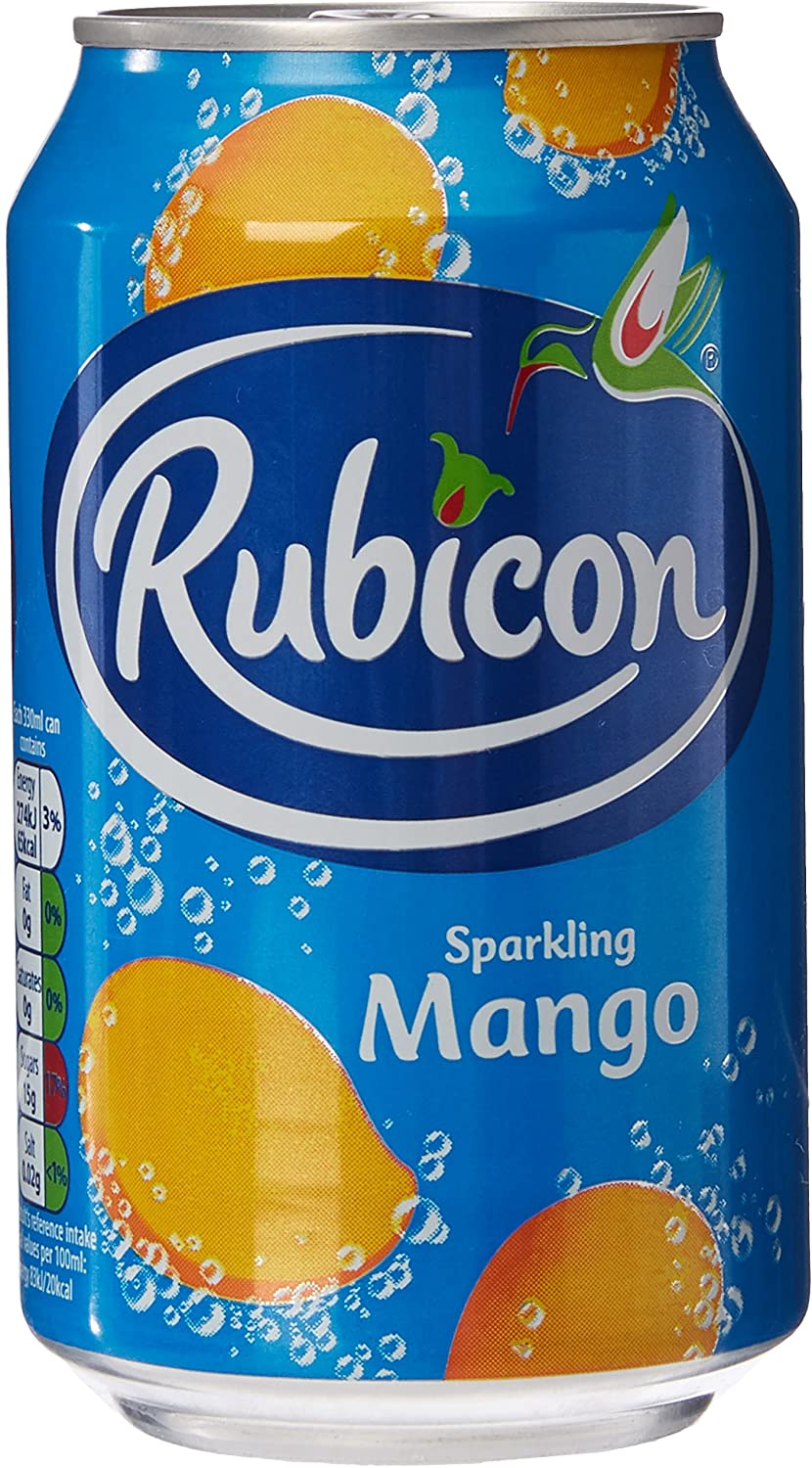 Rubicon Mango Cans 330ml tray of 24