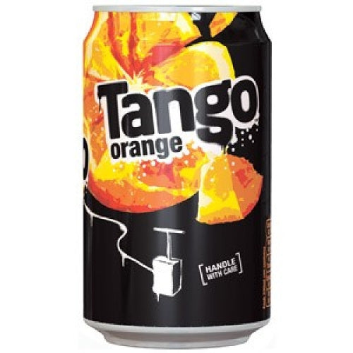 Tango Orange Cans 330ml Tray of 24