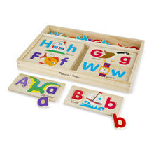 Load image into Gallery viewer, ABC Picture Boards Educational Toy by Melissa & Doug