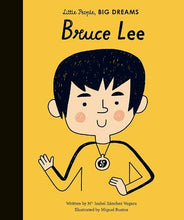 Load image into Gallery viewer, Bruce Lee- Little People, BIG DREAMS Hardcover (Restock Coming Soon)