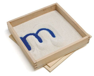 "Primary Concepts PC-2012 Letter Formation Sand Tray, 8"" Width, 8"" Length"