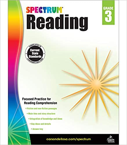 Spectrum Reading Book Grade 3