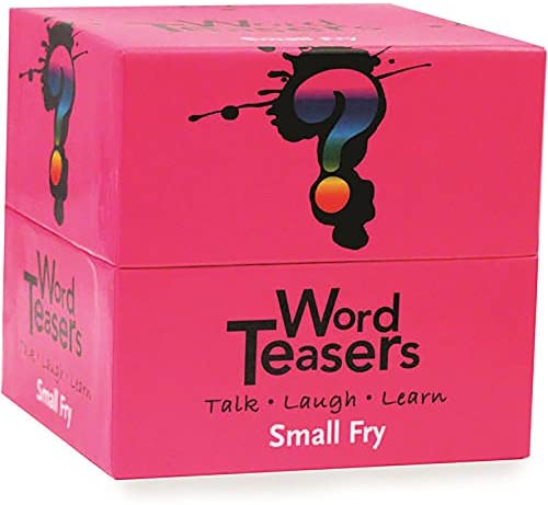 Word Teasers Small Fry - Interactive Vocabulary Trivia Game Cards Featuring Words for Children