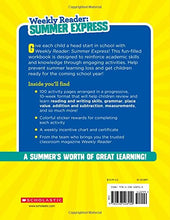 Load image into Gallery viewer, Weekly Reader: Summer Express (Between Grades 2 & 3) Workbook Paperback