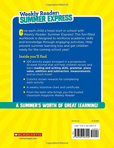 Weekly Reader: Summer Express (Between Grades 2 & 3) Workbook Paperback