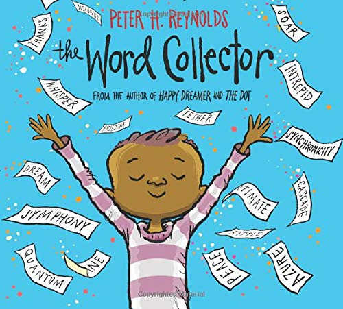 The Word Collector Hardcover – Illustrated, January 30, 2018 by Peter H. Reynolds (Author, Illustrator)