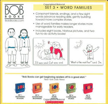Load image into Gallery viewer, Bob Books Set 3- Word Families Paperback