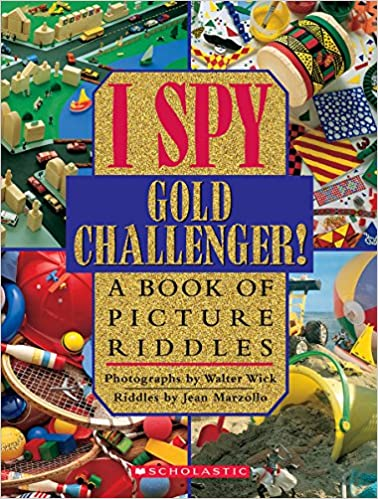 I Spy Gold Challenger: A Book of Picture Riddles Hardcover