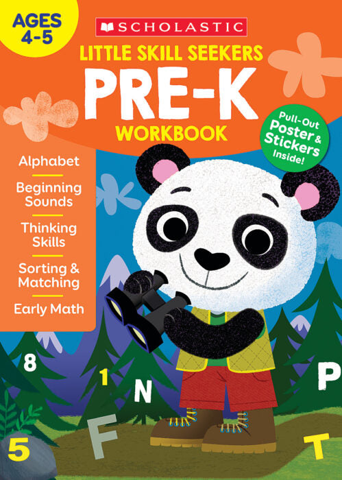 Little Skill Seekers: Pre-K Workbook