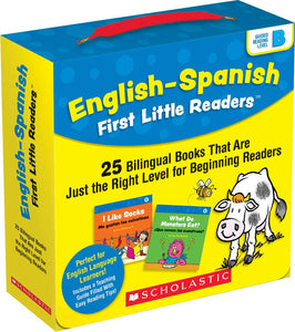 English-Spanish First Little Readers: Guided Reading Level B (Parent Pack): 25 Bilingual Books
