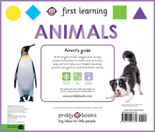 Load image into Gallery viewer, First Learning Animals Play Set Board book