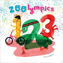 Load image into Gallery viewer, Zoolympics Board book – Picture Book