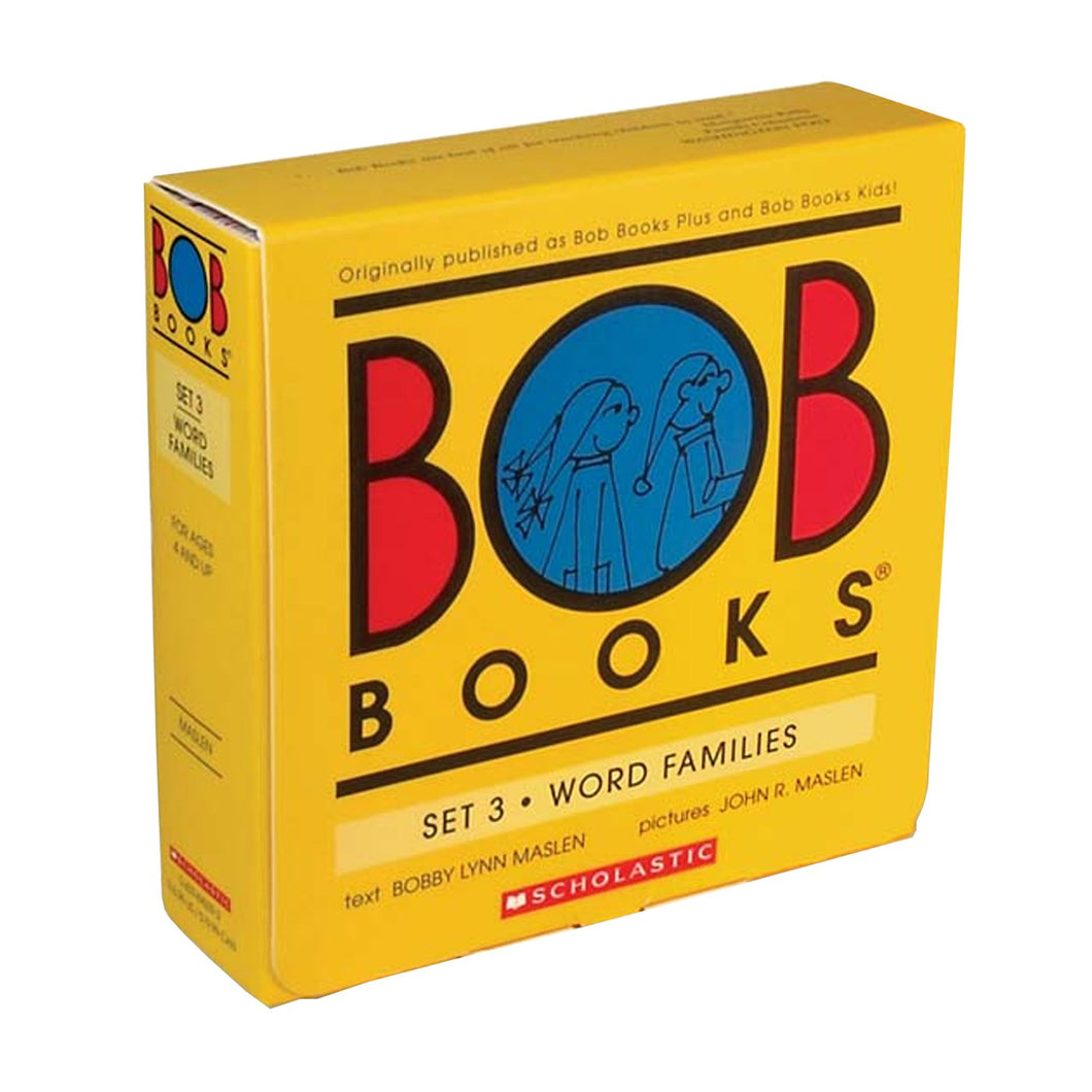 Bob Books Set 3- Word Families Paperback