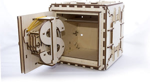 Model Safe Kit | 3D Wooden Puzzle | DIY Mechanical Safe by UGEARS