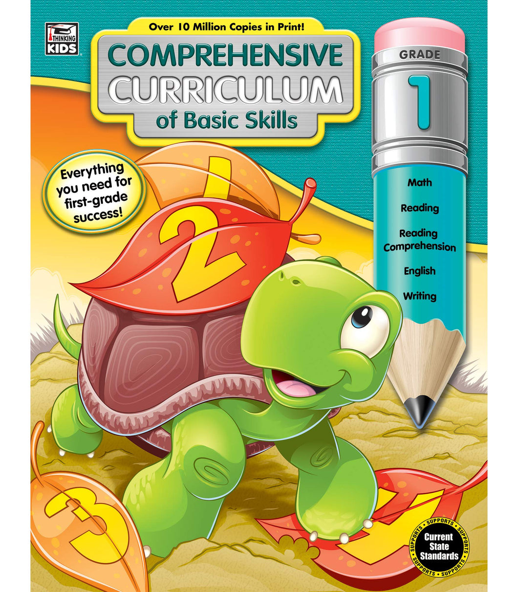 Comprehensive Curriculum of Basic Skills Workbook | Grade 1 Paperback