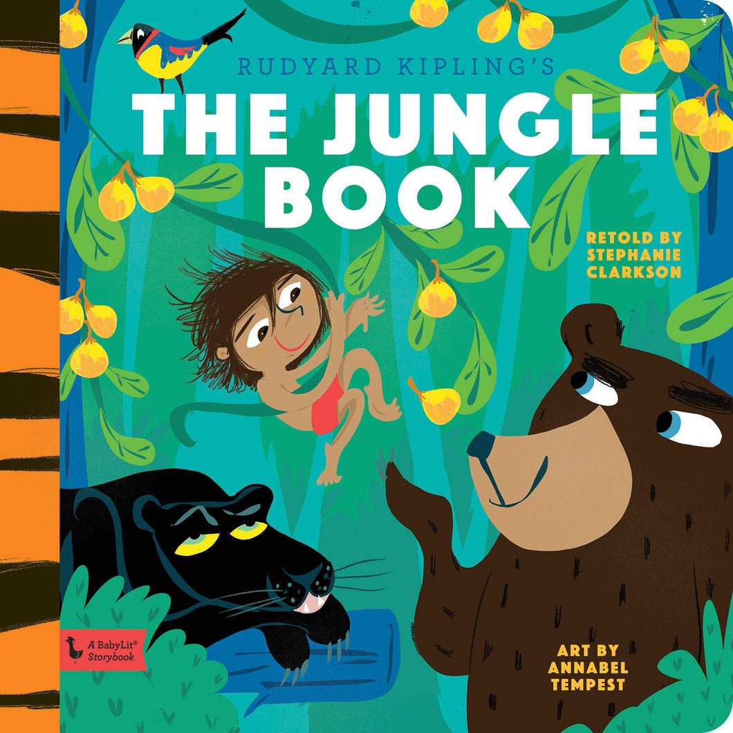 The Jungle Book: A BabyLit Storybook Hardcover – Picture Book,