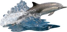Load image into Gallery viewer, I AM Lil' Dolphin - 100 Pieces - Animal Shaped Jigsaw Puzzle
