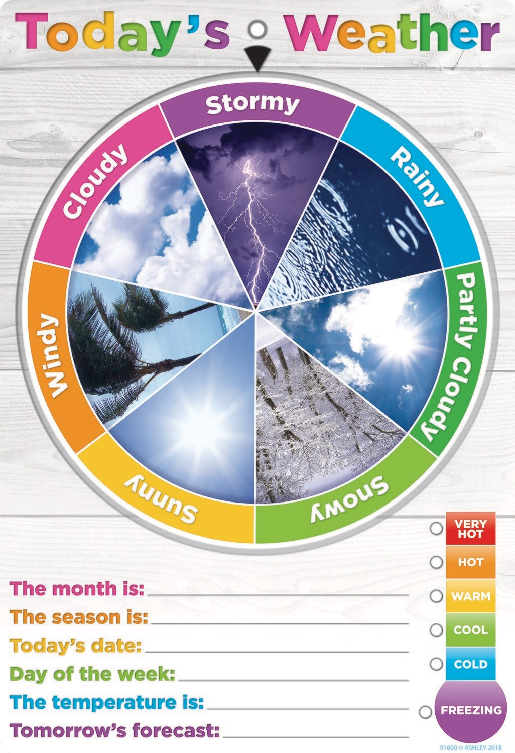 English Weather Smart Wheel™ 13