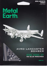 Load image into Gallery viewer, Avro Lancaster Bomber 3D Metal Model Kit