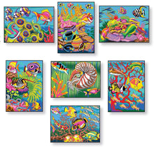 Load image into Gallery viewer, Creative Haven Sea Life Color by Number Coloring Book (Adult Coloring)