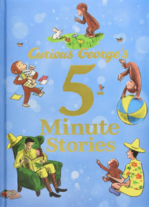 Curious George's 5-Minute Stories Hardcover