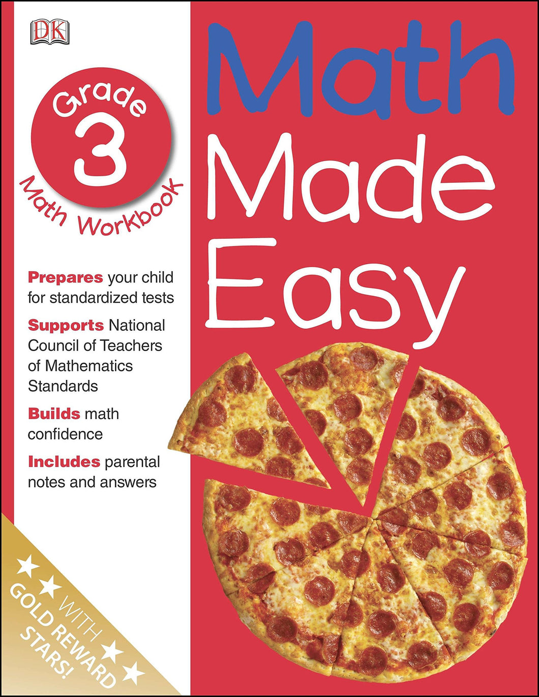 Math Made Easy: Third Grade Workbook - Paperback
