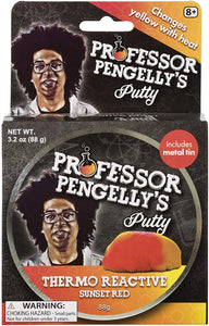 Professor Pengelly's Putty Thermo Reactive Sunset Red