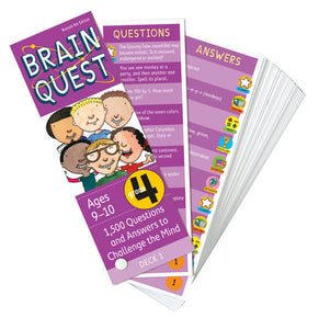 Brain Quest Grade 4, revised 4th edition 1,500 Questions and Answers to Challenge the Mind