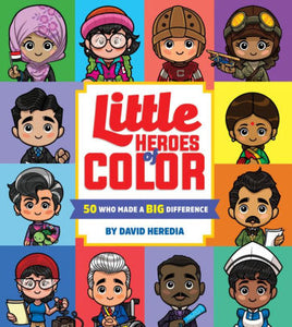 Little Heroes of Color Board Book