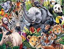 Load image into Gallery viewer, Animal Planet Safari Friends - 100 Piece Kids Puzzle