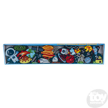 "Load image into Gallery viewer, 23"" X 5"" 26pc Alphabet Outer Space Puzzle"