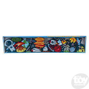 "23"" X 5"" 26pc Alphabet Outer Space Puzzle"