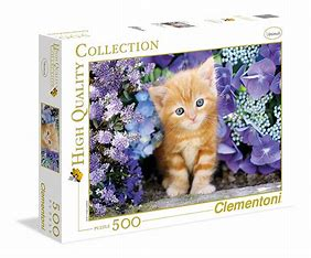 Ginger Cat 500 Piece Puzzle
