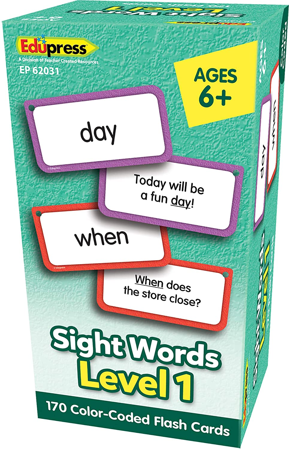 Sight Words Flash Cards Level 1