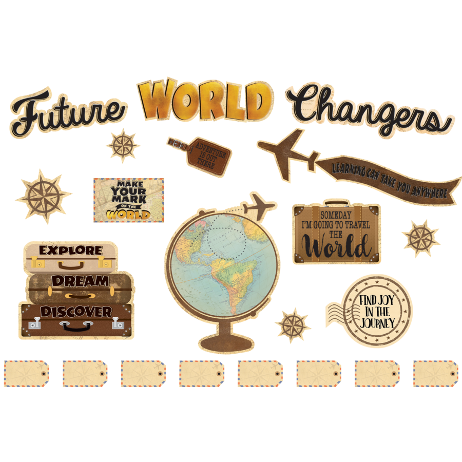 Teacher Created Resources Bulletin Boards Future World Changers TCR8623