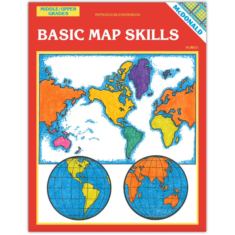 Basic Map Skills Reproducible Workbook