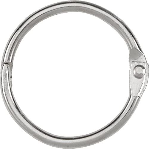 1-1/2 inch Binder Rings 6 per pack