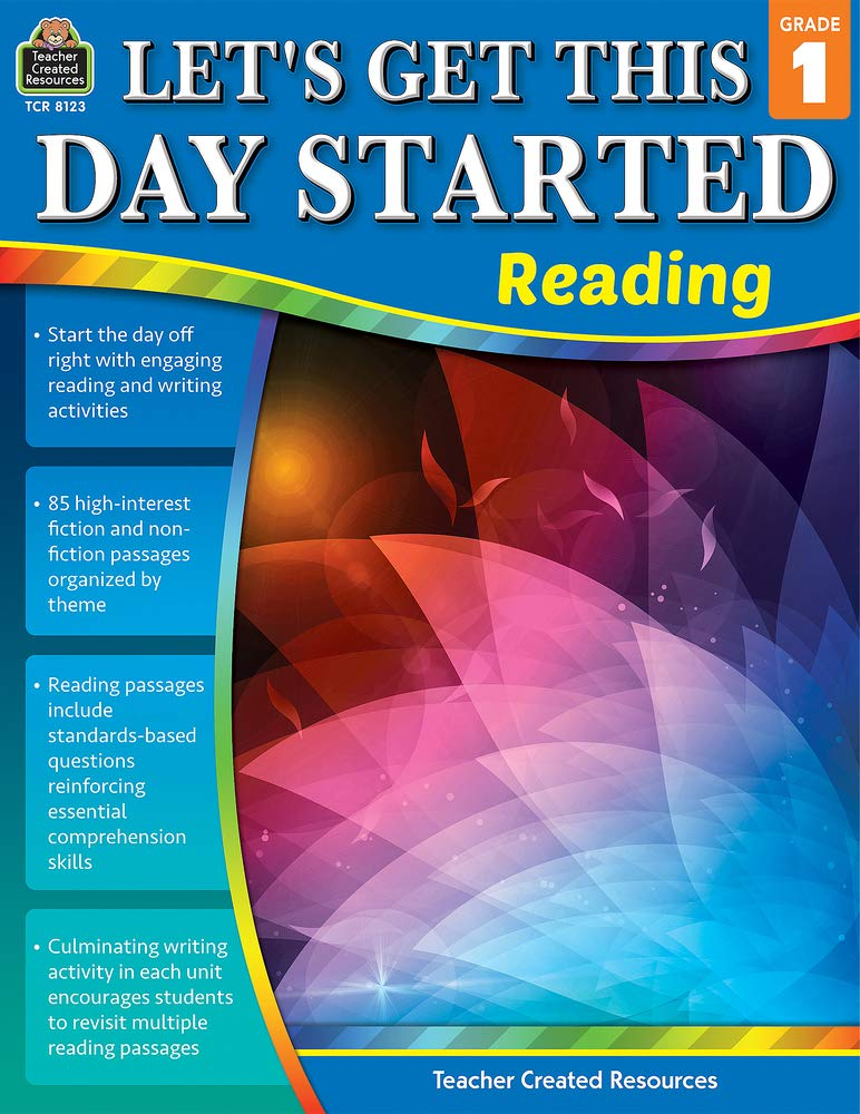 Teacher Created Resources Let's Get This Day Started: Reading, Grade 1