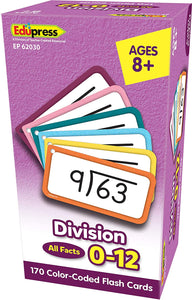 Division All Facts 0-12