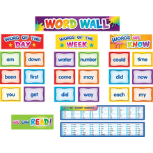 Load image into Gallery viewer, First 100 Sight Words Pocket Chart Cards
