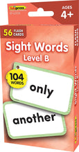Load image into Gallery viewer, Sight Words Flash Cards - Level B