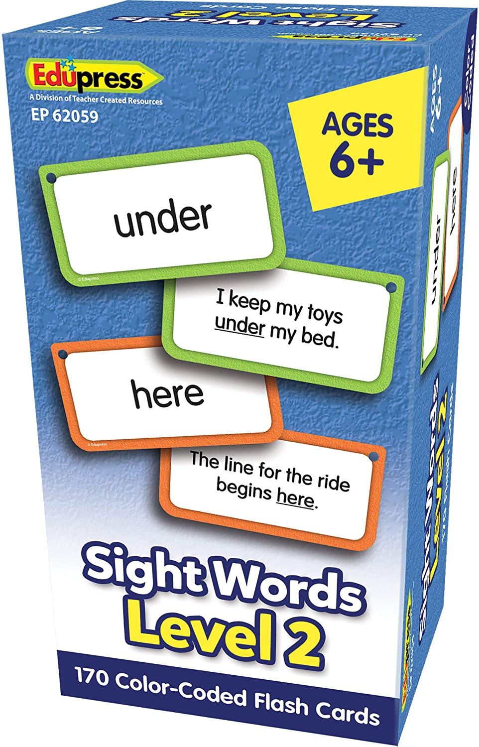 Sight Words Flash Cards Level 2