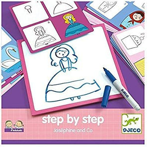 Princess & More Drawing Kit by DJECO