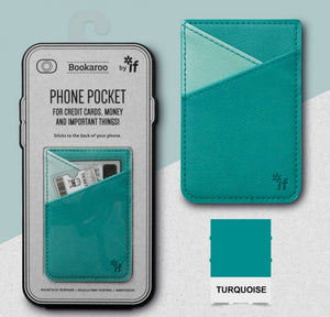 Bookaroo Phone Pocket (Turquoise)