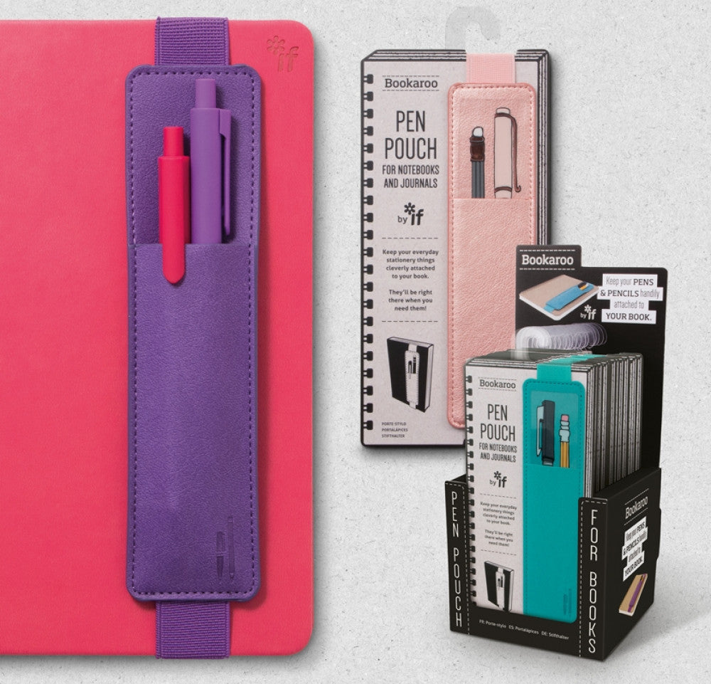Bookaroo Pen Pouch (Purple)