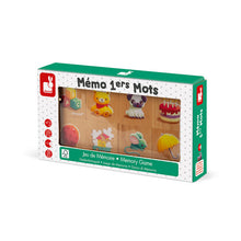 Load image into Gallery viewer, MEMORY GAME - MEMO 1ERS MOTS (WOOD)