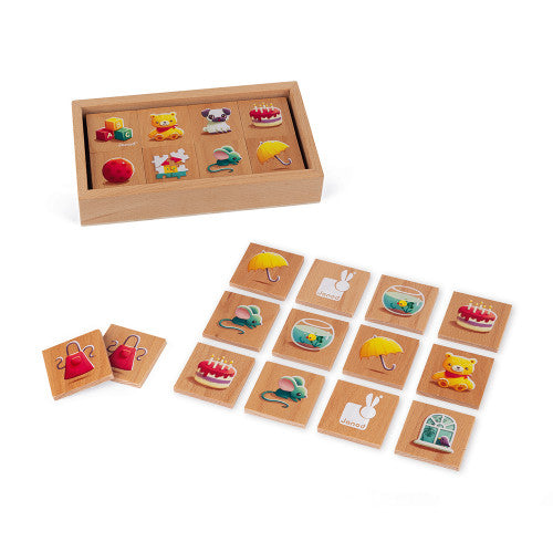 MEMORY GAME - MEMO 1ERS MOTS (WOOD)