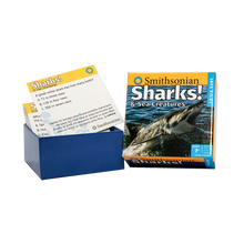 Load image into Gallery viewer, Smithsonian Sharks & Sea Creatures cards