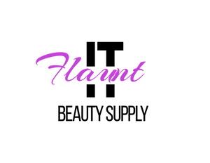 flaunt it beauty supply logo