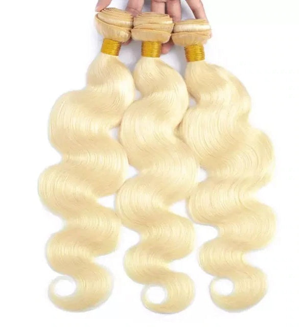 Blonde Suprise Diva Brazilian Hair Bundles - Flaunt It Beauty Supply
